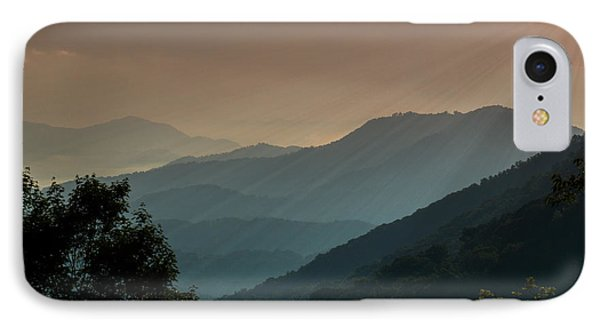 IPhone Case featuring the photograph Great Smoky Mountains Blue Ridge Parkway by Patti Deters