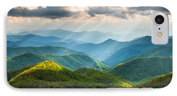 Mountain iPhone 7 Case - Great Smoky Mountains National Park Nc Western North Carolina by Dave Allen