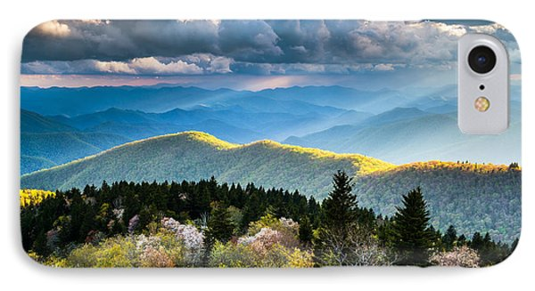 Great Smoky Mountains National Park - The Ridge IPhone Case by Dave Allen