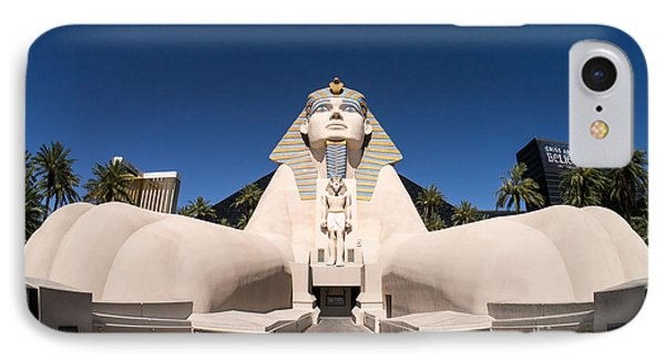 Great Sphinx Of Giza Luxor Resort Las Vegas Phone Case by Edward Fielding