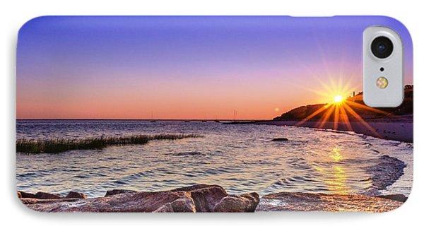 Saints Landing Cape Cod IPhone Case by Mike Ste Marie