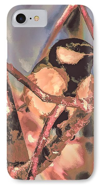 Great Tit  A  Leif Sohlman IPhone Case