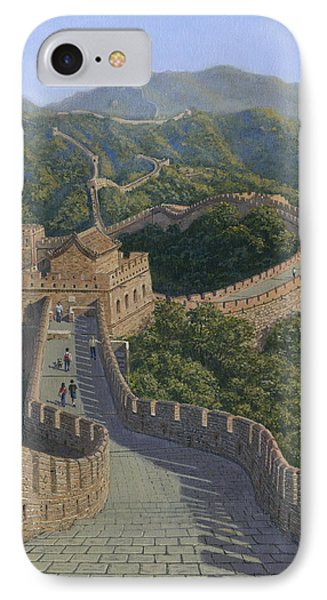 Great Wall Of China Mutianyu Section Phone Case by Richard Harpum