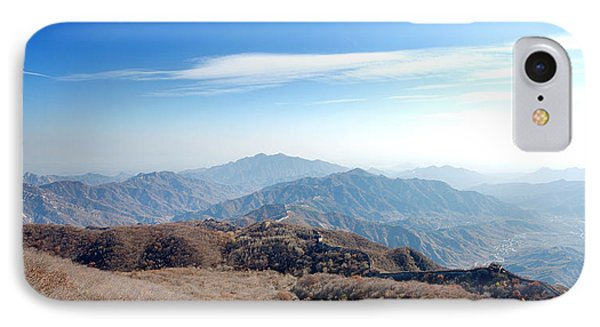 Great Wall Of China - Mutianyu IPhone Case by Yew Kwang