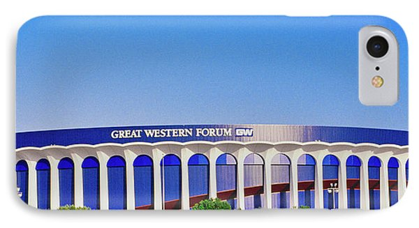 Great Western Forum, Home Of The La IPhone Case