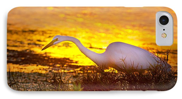 Great White Sunset IPhone Case by Mark Andrew Thomas