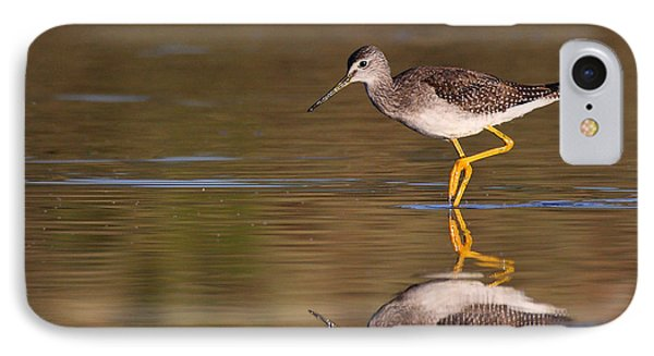 IPhone Case featuring the photograph Greater Yellow Legs by Ruth Jolly