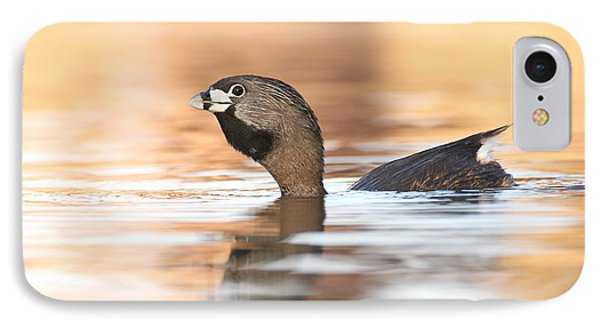 IPhone Case featuring the photograph Grebe A Calling by Ruth Jolly