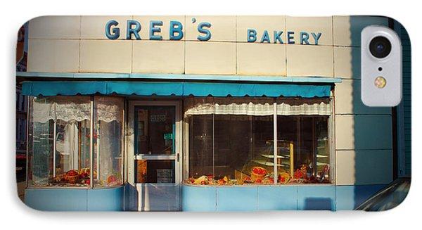 Greb's Bakery Pittsburgh Phone Case by Jim Zahniser
