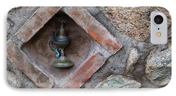Greece, Meteora Oil Lamp Embedded IPhone Case