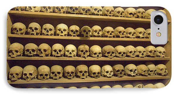 Greece, Meteora Skulls Of Monastics IPhone Case