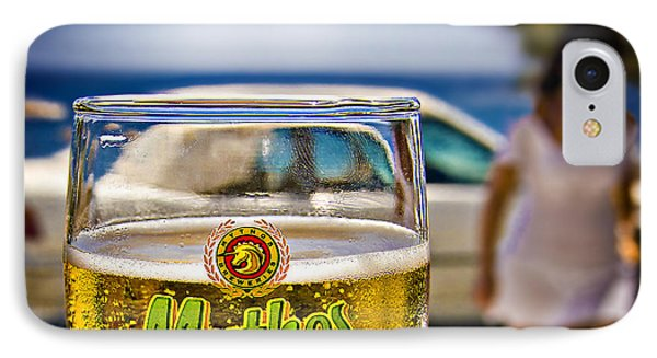 IPhone Case featuring the photograph Greek Beer Goggles by Meirion Matthias