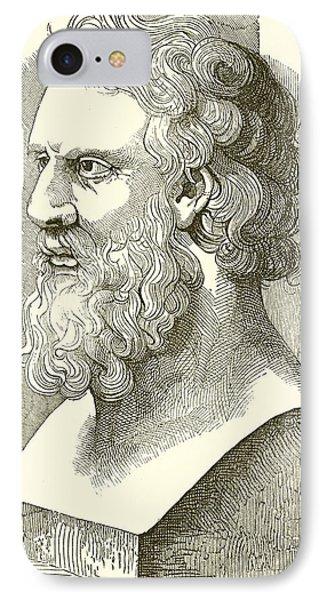Greek Bust Of Plato IPhone Case
