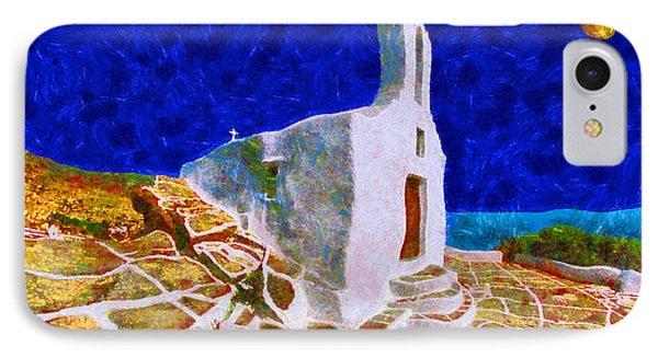 Greek Church 5 Phone Case by George Rossidis