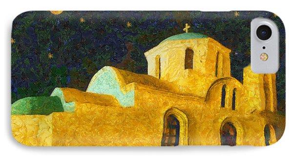Greek Church Phone Case by George Rossidis