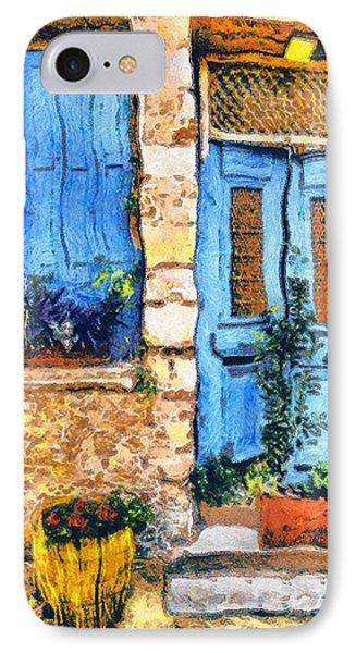 Greek House 66 Phone Case by George Rossidis