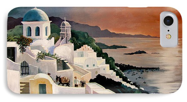Greek Isles IPhone Case by Marilyn Smith