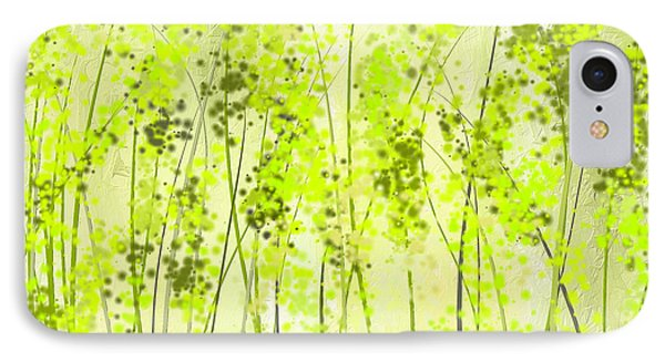 Green Abstract Art IPhone Case