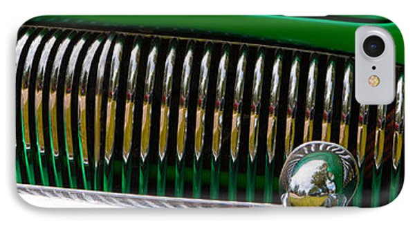 Green And Chrome Teeth IPhone Case by Mick Flynn