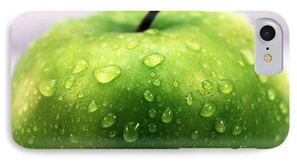 Green Apple Top Phone Case by John Rizzuto