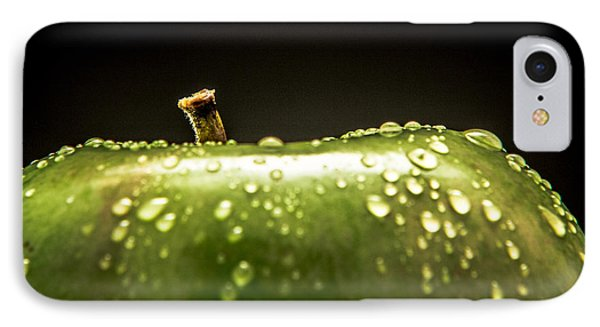 Green Apple IPhone Case by Wade Brooks