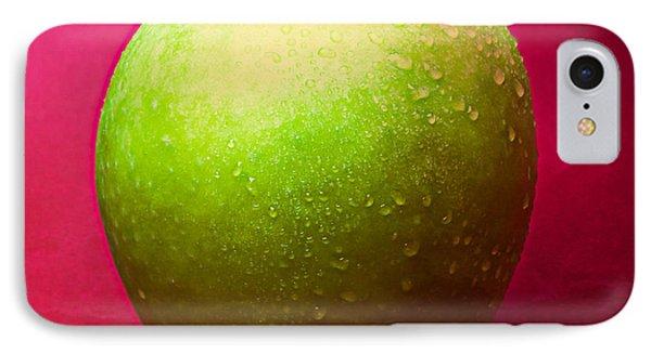 Green Apple Whole 1 Phone Case by Alexander Senin