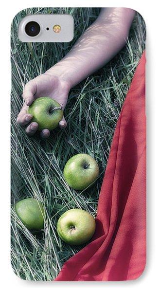 Green Apples Phone Case by Joana Kruse