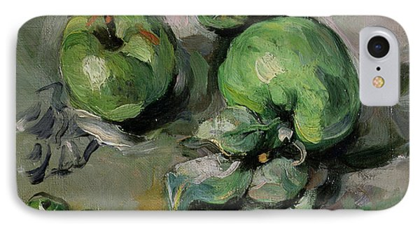 Green Apples IPhone Case by Paul Cezanne