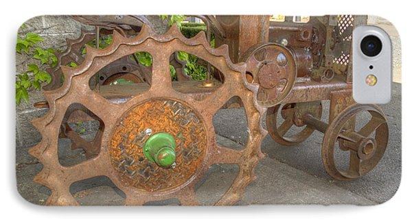 Green Axle Phone Case by Jean Noren