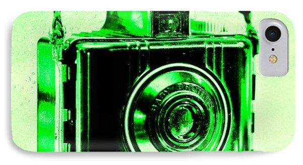Green Baby Brownie Special IPhone Case by Jon Woodhams