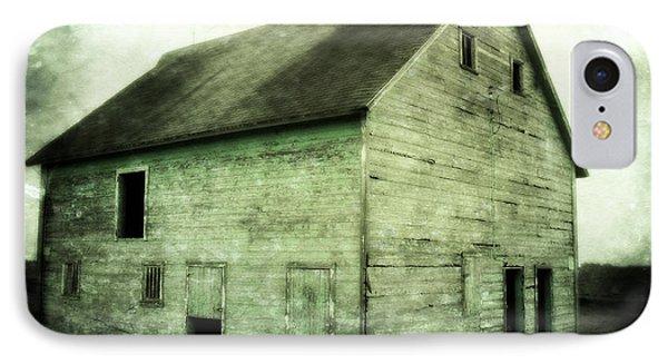 Green Barn Phone Case by Julie Hamilton