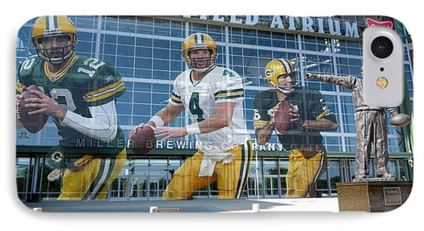 Green Bay Packers Lambeau Field IPhone Case by Joe Hamilton