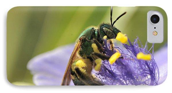 Green Bee IPhone Case