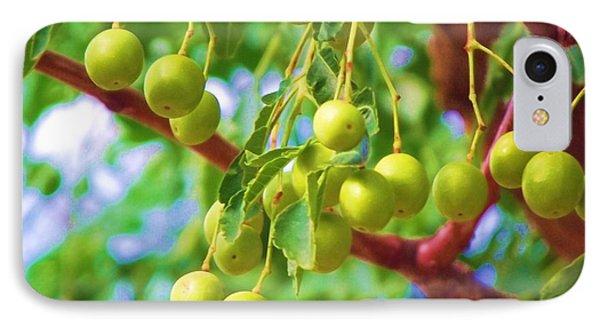 Green Berries IPhone Case
