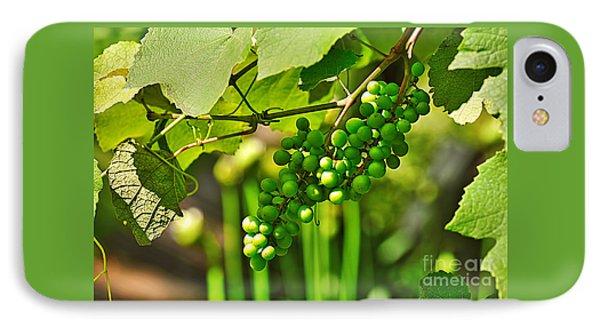 Green Berries Phone Case by Kaye Menner
