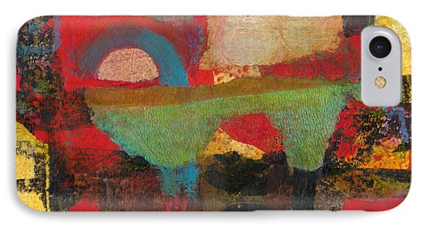 IPhone Case featuring the mixed media Green Bridge by Catherine Redmayne