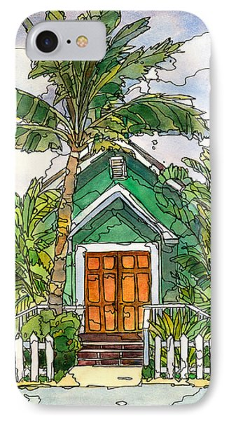 Green Church IPhone Case by Stacy Vosberg