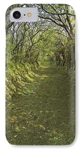 IPhone Case featuring the photograph Green Country Lane by Jane McIlroy