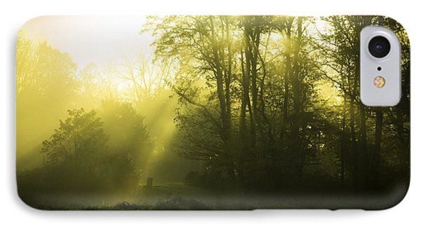 IPhone Case featuring the photograph Green Dawn by Phil Abrams