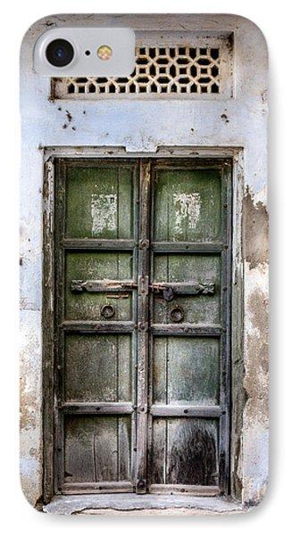Green Door Phone Case by Catherine Arnas