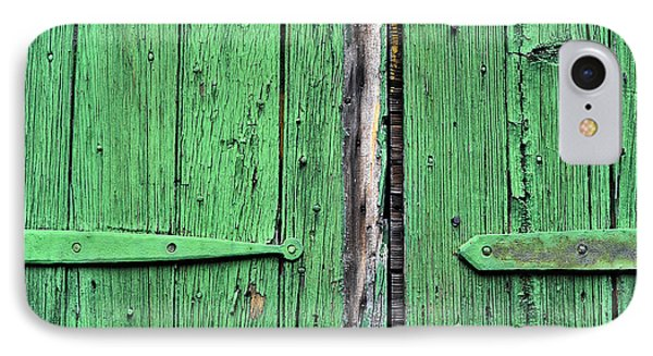 Green Door IPhone Case by Steve Archbold