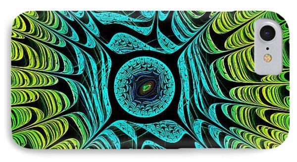 Green Dragon Eye IPhone Case by Anastasiya Malakhova