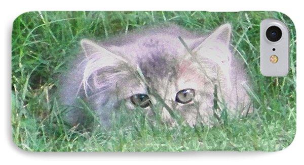 IPhone Case featuring the photograph Green Eyes by Gena Weiser