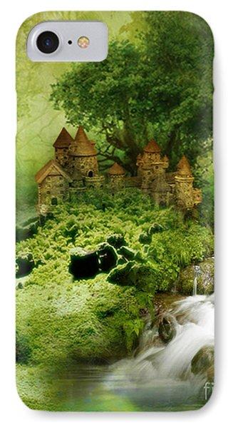 IPhone Case featuring the digital art Green - Fantasy Art By Giada Rossi  by Giada Rossi