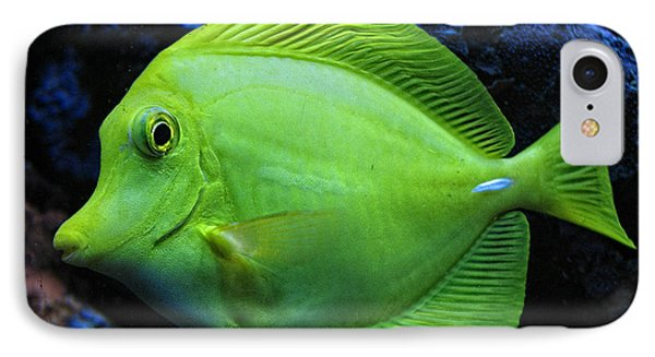 Green Fish Phone Case by Wendy J St Christopher