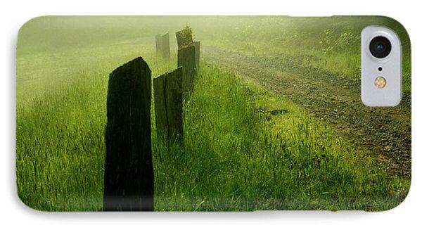 Green Fog IPhone Case by Deena Otterstetter