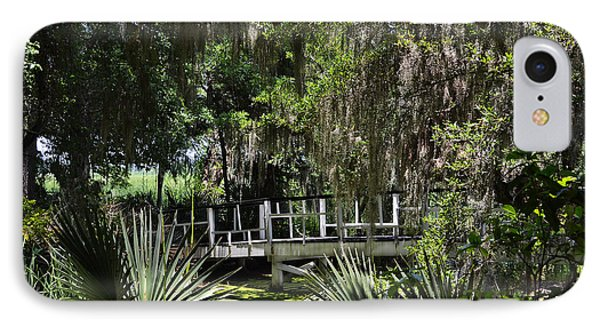 Green Gardens At Magnolia Plantation IPhone Case