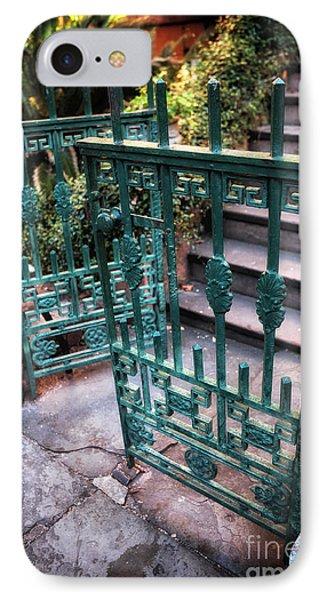 Green Gate Of Savannah IPhone Case