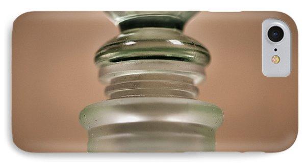 Green Glass Bottle Phone Case by Christi Kraft