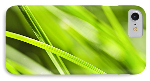 Green Grass Abstract IPhone Case